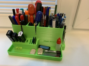 Table pencil organiser