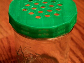 Canning Jar Strainer Lid
