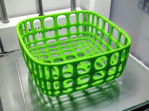 Large wire basket (medium height)