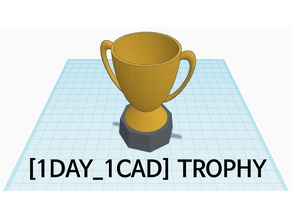[1DAY_1CAD] TROPHY