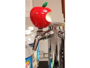 Apple Logo Beer Tap