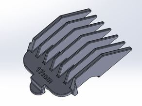wahl hair clipper 17mm comb