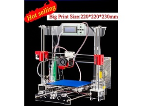 AliExpress Zonestar P802 Prusa i3 Printed Parts and Repetier Firmware