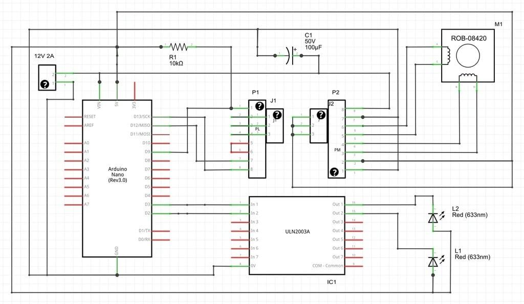 Ekobots - Ciclop 3D Scanner shield for Arduino  by jsirgado