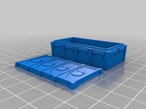 Munitorum supply crate (size 4) proxy