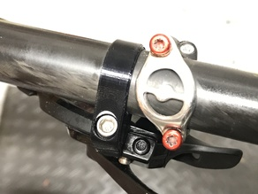 SRAM shifter clamp for flat bar MTB shifters