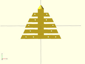 Christmas tree for decoration.