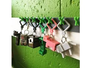 Minecraft Keychain Hanger