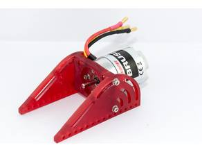 RC Boat Motor Mount 25 & 19mm (Graupner Brushless Speed 600 BB)