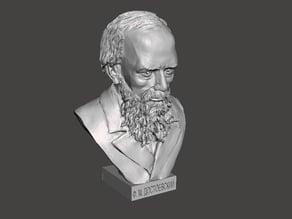 Dostoevsky bust