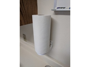 Paper Towel Holder with Design