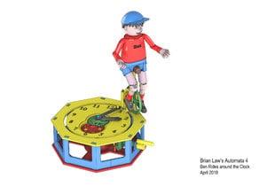 Automata-4 Ben rides around the clock