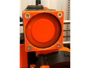 Extruder Motor cooler brackets