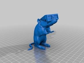 Banksy 3D Glasses Rat