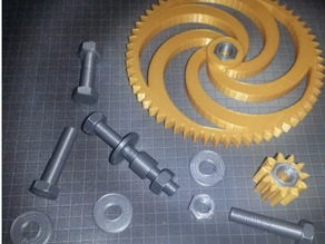 Hardware kit for Involute Blower