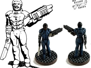 Henry Cobb, 15mm, 28mm and 54mm Miniature