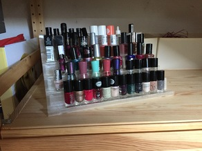 Regal für Nagellack; Rack for nail polish