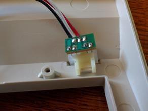 Commodore 128 LED bracket
