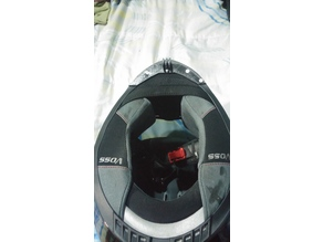 Motorcycle Helmet Camera mount