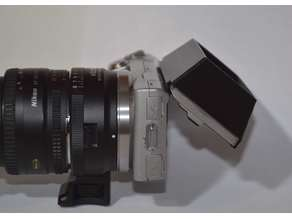 Nex-5 Screen shade