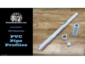 PVC Pipe Profiles