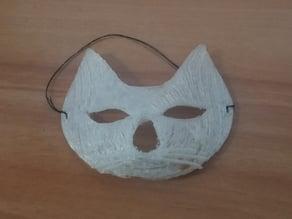 carnival cat mask