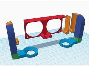 Makerbot 2X PLA Diffuser Shroud