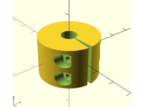 Configurable Rod Clamp and Coupler