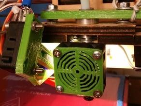 30mm square fan grill