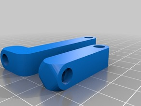"Some additional beams for Torsten's ""Webcam holder for Ultimaker"" thing"