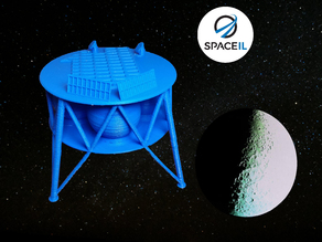 Beresheet Lunar Lander - SpaceIL