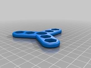 Very Customizable Fidget Spinner 606 bearing
