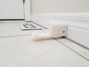 Door stop with Catch