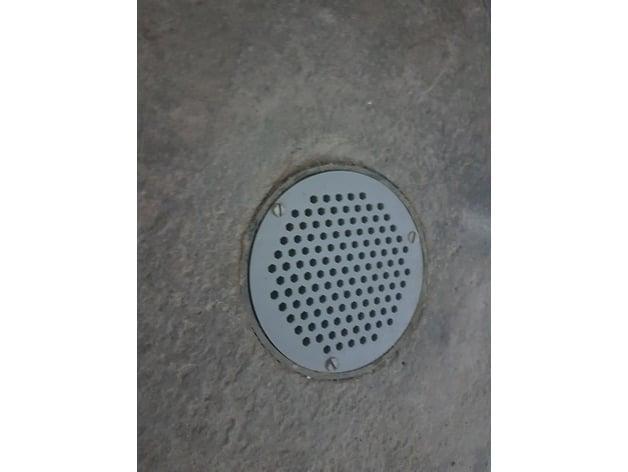 floor drain cover by kumorimyou thingiverse rh thingiverse com