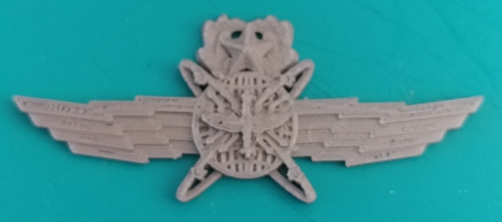 Air Force Cyberspace Operator Badges by Abu_Jayden - Thingiverse