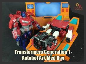 Transformers Generation 1 - Autobot Ark Med Bay
