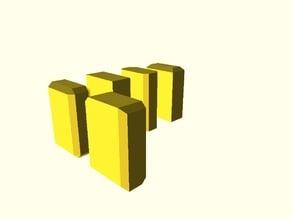Cube chamber module