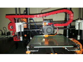 Anet A8 2017 version X cable chain with fine tune adjustment