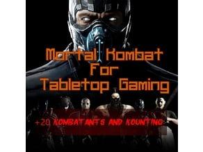 Mortal Kombat for Tabletop Gaming