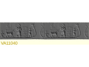 Ancient cylinder seals collection