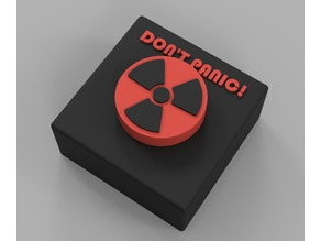Don't Panic Nuclear Button
