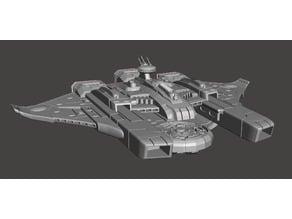 Tau Or'es El'leath (Custodian) Class Battleship