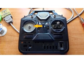 Transmitter upgrade for steering wheel (potentiometer mount)