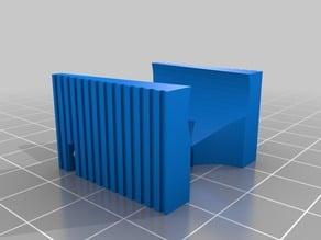 Fan duct for 30x30x10mm fan for the kossel clear fan mount