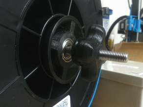 Tapered roller filament spool (Bearing 608ZZ)