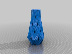 Sharp Pattern Vase