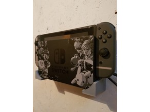 Simple Wall Mount for the Nintendo Switch