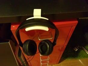 Headphone Holder - 34mm Desk Remix