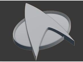 Star Trek TNG Combadge