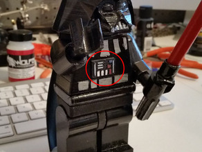 Lego Minifig Darth Vader - Chest plate